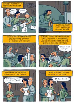 Thoughtful comic on privilege.