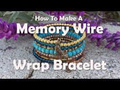 How To Make Jewelry: How To Make A Memory Wire Wrap Bracelet, My Crafts and DIY Projects