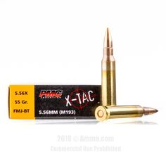 PMC 5.56x45 Ammo - 20 Rounds of 55 Grain FMJ Ammunition #556x45 #556x45Ammo #PMC #PMCAmmo #PMC556x45 #FMJAmmo #PMCXTac