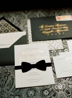wedding invitation; photo: Liz Banfield