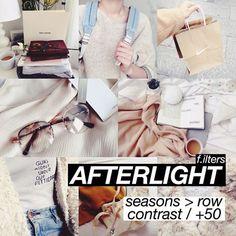 สูตรแต่งรูป afterlight