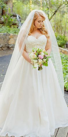 Plus-Size Wedding Dresses: A Jaw-Dropping Guide ❤ See more…