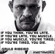 Best Saulo Ribeiro quote!