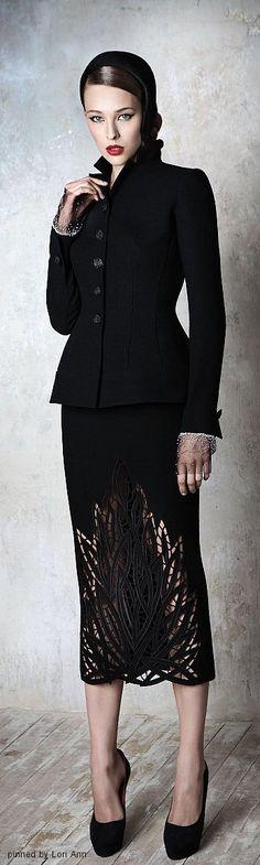 Yulia Yanina Couture Fall 2013