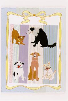 Kintaro Ishikawa, My Lovely Dogs on ArtStack #kintaro-ishikawa #art