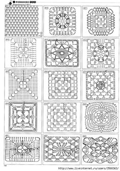 Httpwwwiris 1400 Crochet Patterns For Allhtmlfree crochet patterns: free crochet granny square charts and projectsok, this is for those that can read diagrams. I had a hard time pulling up the site though.Delicatessen in gehaakte Gabriela: Patterns r Motifs Granny Square, Crochet Motifs, Granny Square Crochet Pattern, Crochet Blocks, Crochet Diagram, Crochet Stitches Patterns, Crochet Chart, Crochet Squares, Crochet Doilies