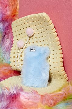 @SkinnydipLondon Furry Up iPhone 5 Case #bluefur