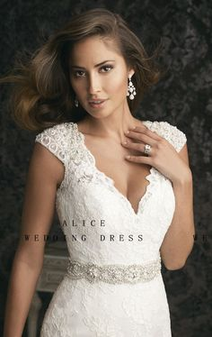 wedding dresses with thick straps - Google Search