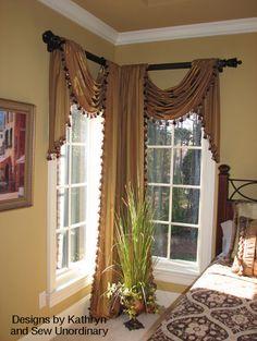 Symmetrical window treatments
