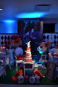 Alice in Wonderland Quinceañera Party Ideas Casino Night Party, Casino Theme Parties, Party Themes, Party Ideas, Themed Parties, Casino Decorations, Quinceanera Party, Alice In Wonderland Party, Party Centerpieces