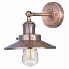 Found it at Wayfair - Mini Hi-Bay 1-Light Wall Sconce