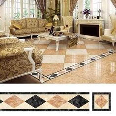 Floor Tiles Decor Stickers ( ) – acchic You are in the right place about cement floor tile Here we offer you the most beautiful pictures about the porcelain floor tile you are looking for. Wooden Floor Tiles, Tile Floor, Ux Design, Unique Home Decor, Diy Home Decor, Stenciled Floor, Floor Stickers, Home Fix, Diy Home Repair