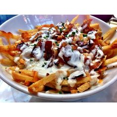 D Bar in Hillcrest (San Diego). Here's their Crüe Fries. Definitely a must try and share. ? #dbarsandiego