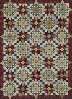 Scrap Showcase Quilting Pattern from the Editors of American Patchwork & Quilting Star Quilts, Scrappy Quilts, Quilt Blocks, Quilting Tutorials, Quilting Projects, Quilting Designs, American Patchwork And Quilting, Quilt Bedding, Bed Quilts
