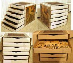 Mil ideas para reaprovechar cajas de pizza manchadas con pequeñas manchas de grasa o aceite