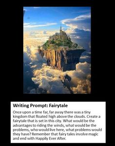 picture prompt: Fairytale.