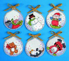 Bubbles Christmas Cross Stitch Kit by Design Works