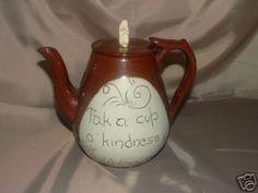 Cumnock Pottery teapot