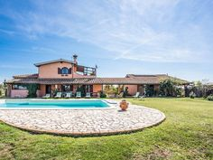 House with private pool 8 kms from Bracciano and lake, 25 from Sea, 40 from Rome - Bracciano Private Pool, Rome, Swimming Pools, Mansions, House Styles, Outdoor Decor, Vacation, Products, Italia
