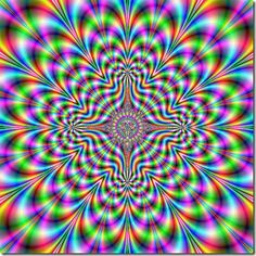 This fractal looks like it is moving.