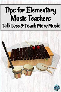 Talk Less and Teach More Music | Tips for K-5 Music Teachers | Frau Musik USA