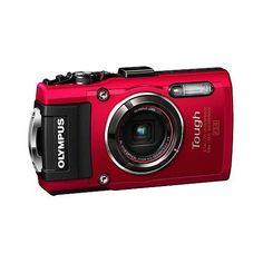 Olympus Tough Series TG-4 16MP Digital Camera - Red
