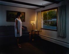 Untitled, from the series Twilight, 2002 by Gregory Crewdson, chromogenic print. The J. Paul Getty Museum.