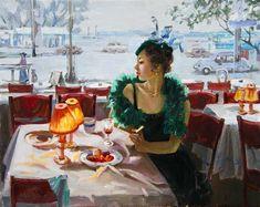 Stanislav Fomenok - Am Abend im Cafe