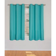 Inspirational Turquoise Curtains at Walmart