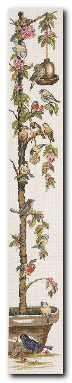 "Embroidery Permin 35-1367  ""Cherry Tree""  Dimshop.com"