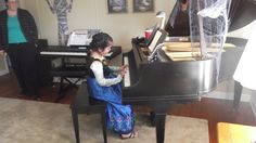 All of the children had lots of fun performing on the piano at the Fall Fun Piano Party