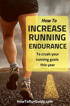 How to Increase Running Endurance. Get faster, stronger and run longer with these running tips. Learn how to increase your running endurance now! Running Workouts, Running Training, Running Tips, Strength Training, Running Humor, Running Food, Running Outfits, Disney Running, Endurance Training