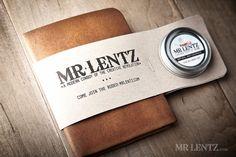 Men's Leather wallet Men's Wallet Thin Leather Wallet by MrLentz
