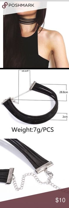 5 Layers Black Choker Necklace 100% Brand New And High quality 5 LAYER CHOCKER  Its special design will make you look unique.  Material:Alloy  package including: 1 PC Necklace Jewelry Necklaces