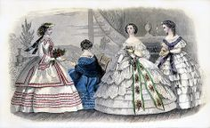 August 1860 Godey's Lady's Book by clotho98, via Flickr