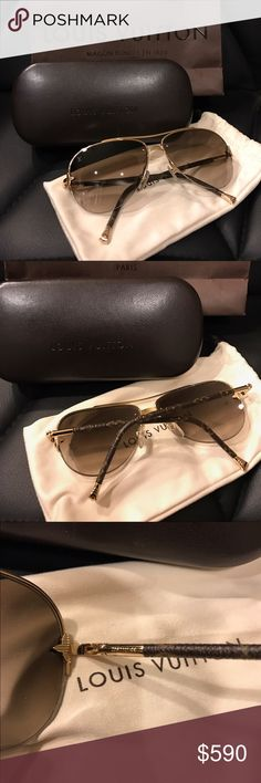 Louis Vuitton Sunglasses Petite Viola Pilote. Authentic and in excellent condition. No scratches. Comes with box and dustbag Louis Vuitton Accessories Sunglasses