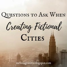 Quill Pen Writer: Questions to Ask When Creating Fictional Cities // read later Creative Writing Tips, Book Writing Tips, Writing Process, Writing Quotes, Fiction Writing, Writing Resources, Writing Skills, Writing Workshop, Writing Help