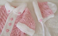 Sweets baby set in pink and withe от RenisDesignermodelle на Etsy