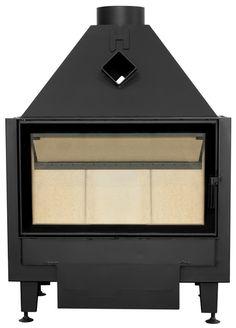 Wkład kominkowy Volcano   Wymiar Drzwi 750x450 mm Moc Nominalna 11 kW  #fireplace #fireside #ogrzewanie #heating #kominek