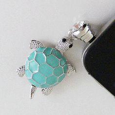 Fashion iphone Cap-Turtle/Turquoise