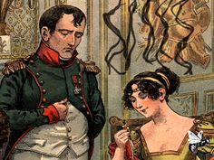 Napoleon & Josephine Bonaparte  @Envelopes.com #VDayLove