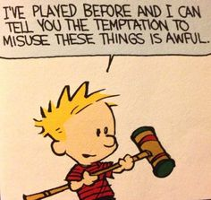 Calvin and Hobbes Calvin And Hobbes Quotes, Calvin Und Hobbes, Calvin And Hobbes Comics, Funny Quotes, Funny Memes, Hilarious, Twisted Humor, Hobbs, Just For Laughs