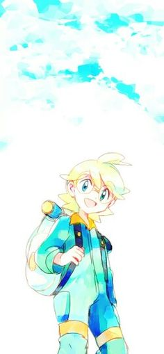 "Clemont ♡ I give good credit to whoever made this -- ""The future is now, thanks to science!"" Lol he's my favorite"