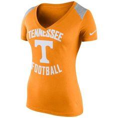 Tennessee Volunteers Nike Women's Stadium Football Top - Tennessee Orange
