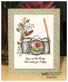 Focus On The Things - Unity Stamp Company Make Happy, Are You Happy, Unity Stamps, Cute Mouse, Copic Markers, Hand Stamped, Machine Embroidery, Christmas Cards, Card Making