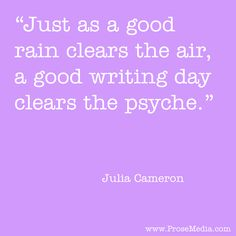 """Prose Quote""--by Julia Cameron. ProseMedia.com is a custom writing service for brands. We write content worth sharing. #Prose"