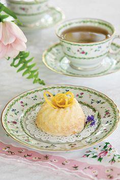 Lemon Buttermilk Mini Cake for Tea