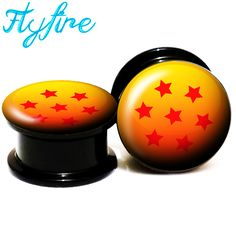 Find More Body Jewelry Information about 7 Dragon Ball Logo Screw Fit Black Acrylic Ear Gauges Flesh Ear Tunnels And Plugs,Ear Stretcher Expander 6MM 25MM 2G 1'' FF38,High Quality stretcher expander,China ear tunnel Suppliers, Cheap tunnels and plugs from DreamFire Store on Aliexpress.com