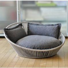 Cama Pet Interiors Siro Twist Silver Gris