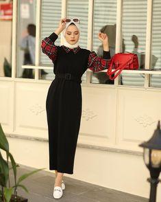 Modest Fashion Hijab, Modern Hijab Fashion, Hijab Fashion Inspiration, Abaya Fashion, Muslim Fashion, Fashion Outfits, 90s Fashion, Hijab Trends, Mode Abaya